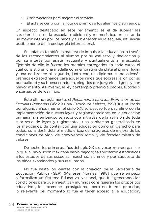 27Referente histórico Elizabeth Camacho Macedo _____________ (2000). El examen. Textos para su historia y debate (Compilac...