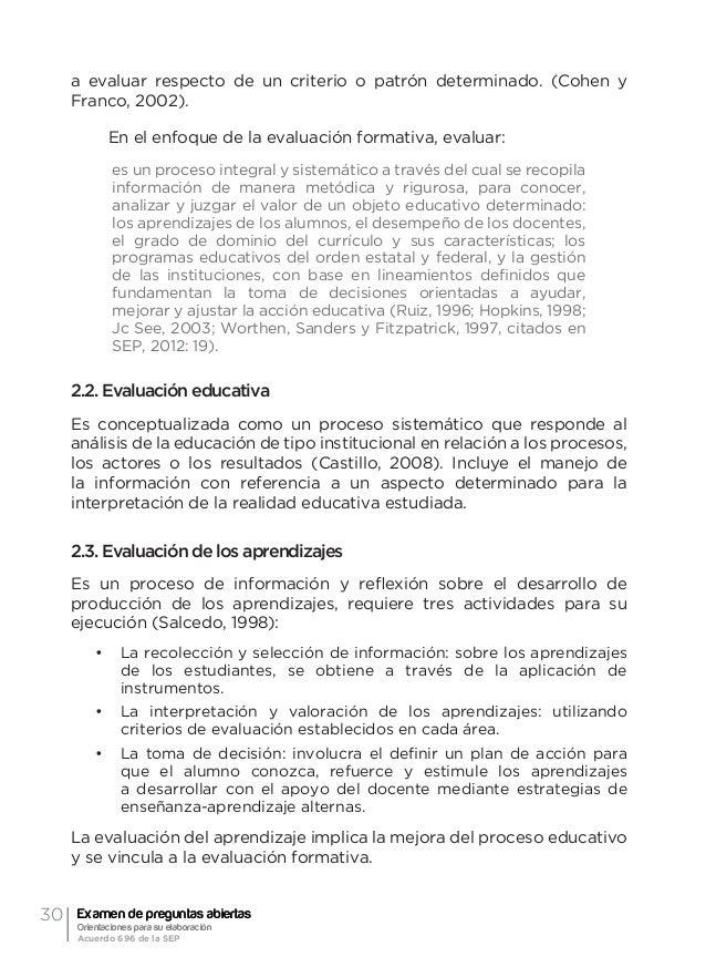 33Conceptos nucleares María Luisa Mendieta Hernández de acuerdo a lo especificado previamente. En el ámbito escolar, una f...