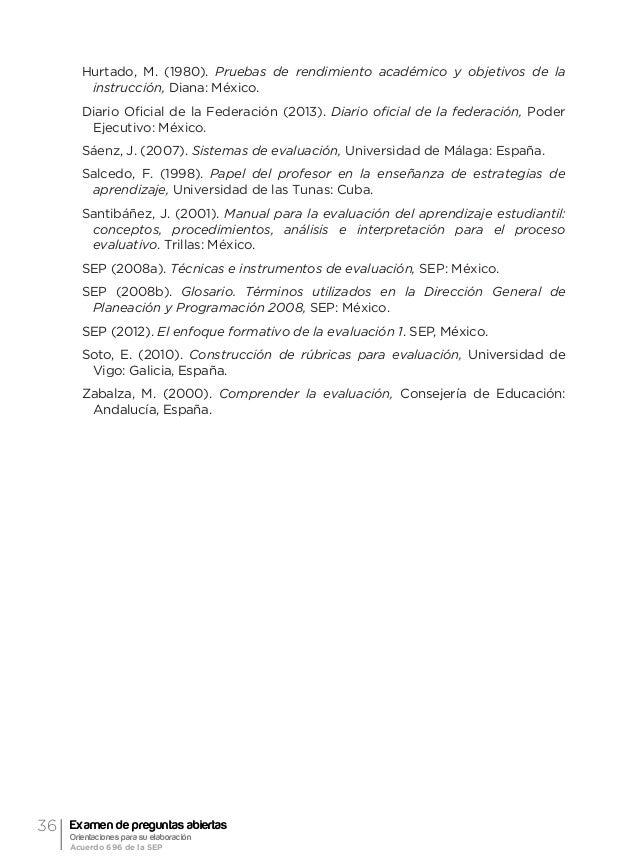 39Dimensiones y tipos de evaluación José Blas Mejía Mata De esta manera, el nivel que se alcanza entre los contenidos fija...