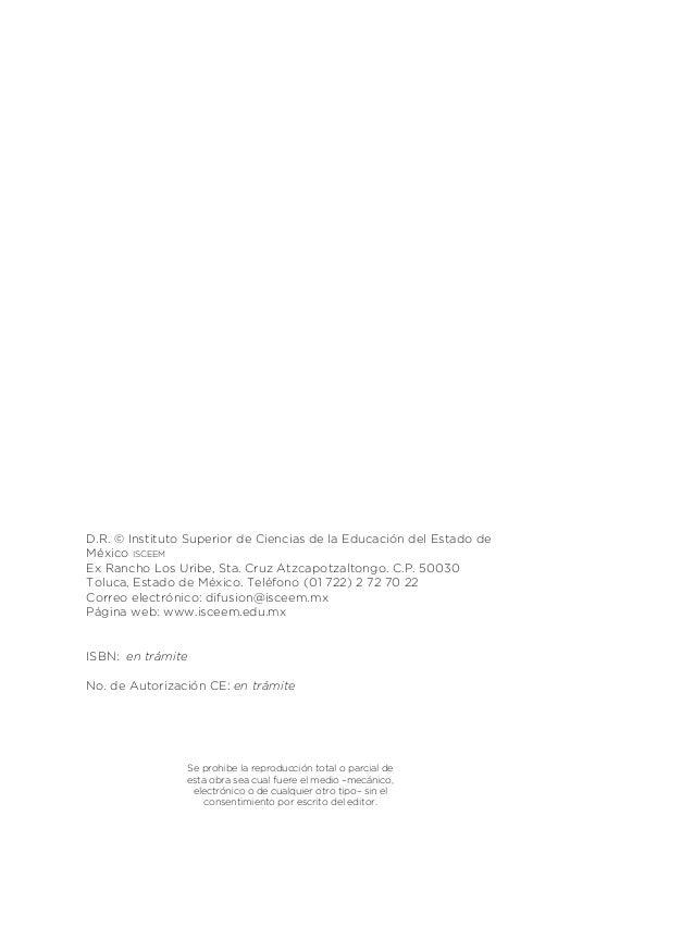 9 3 Presentación La presente obra, nace a interés de la Directiva del Consejo Técnico de Educación Primaria de la Subdirec...