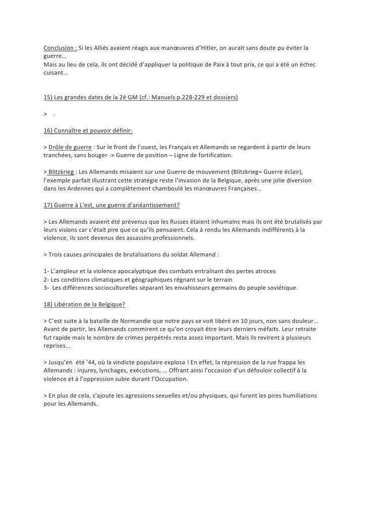 Examen D\'Histoire 2009