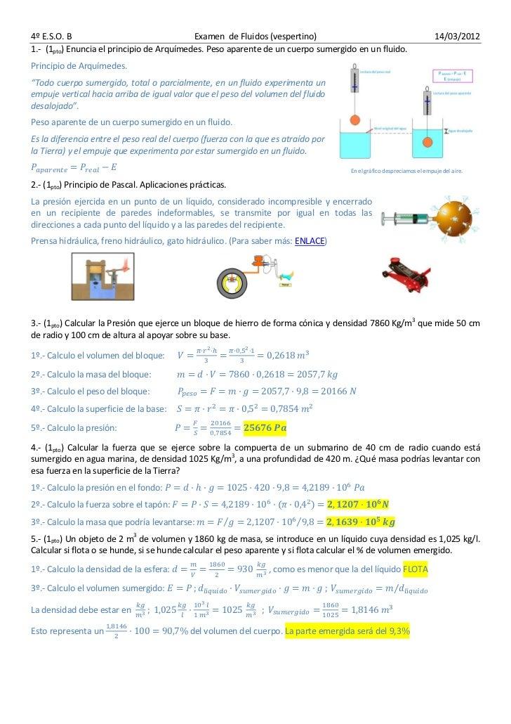 4º E.S.O. B                                Examen de Fluidos (vespertino)                                              14/...