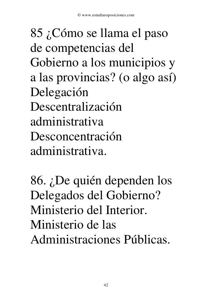 Examen oposiciones bomberos 2000 for Como se llama el ministro del interior