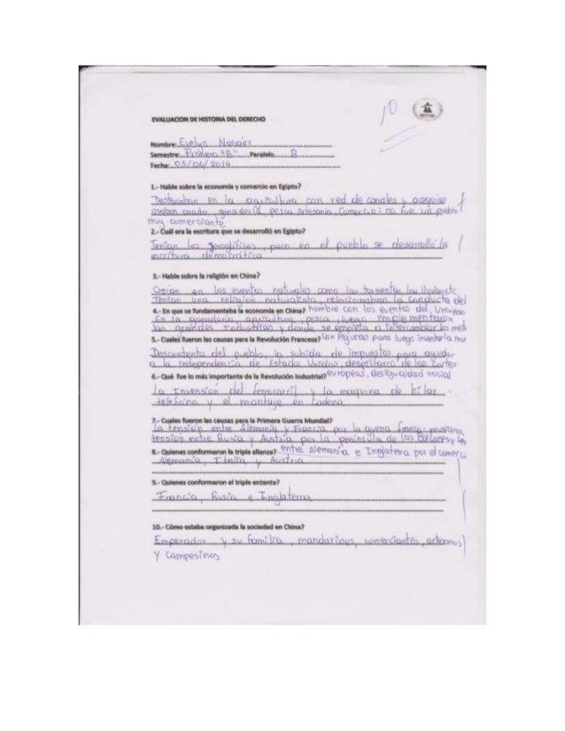 Examen Historia Del Derecho 1