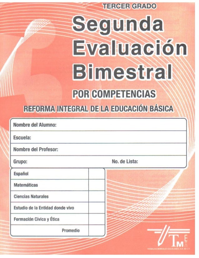 Examen 2do bim tercer grado editorial (2)