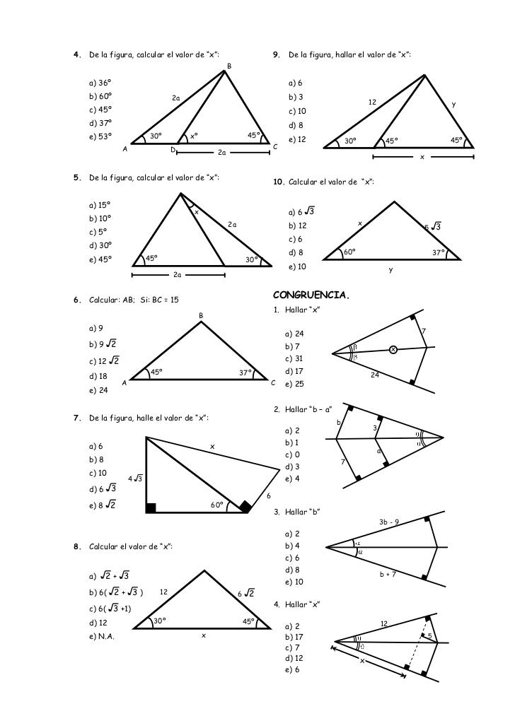 Ejercicios de Geometría Slide 2
