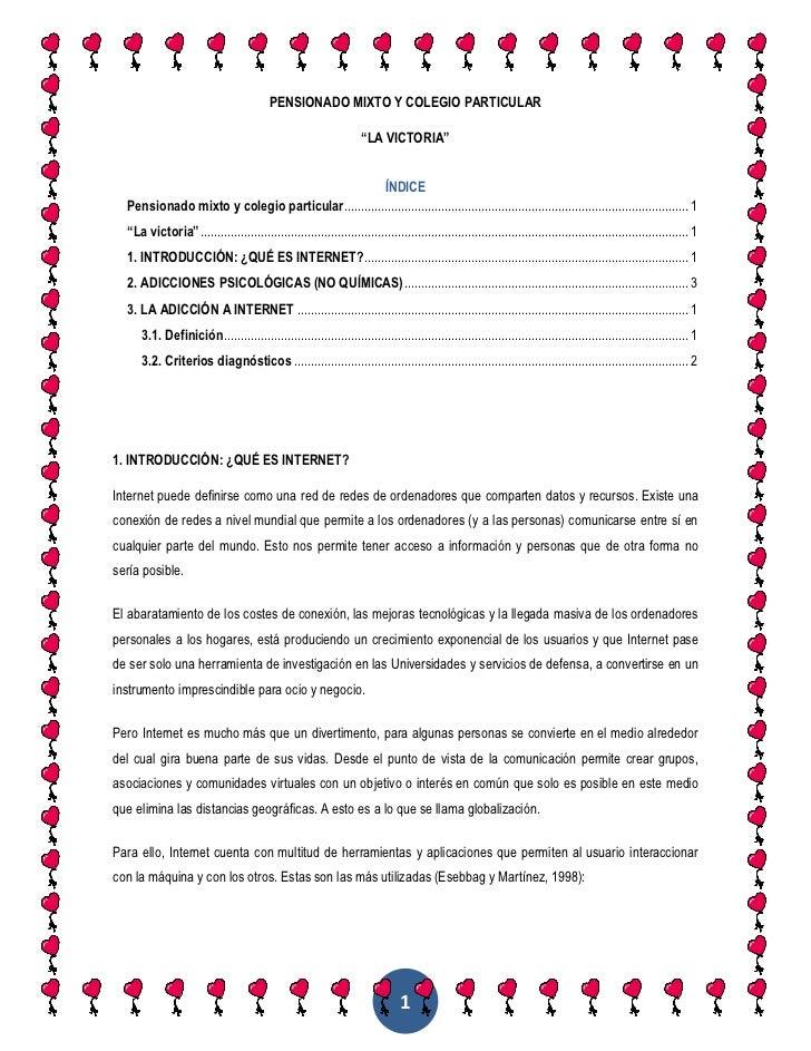 """PENSIONADO MIXTO Y COLEGIO PARTICULAR<br />""""LA VICTORIA""""<br />ÍNDICE  TOC o """"1-3"""" h z u Pensionado mixto y colegio particu..."""