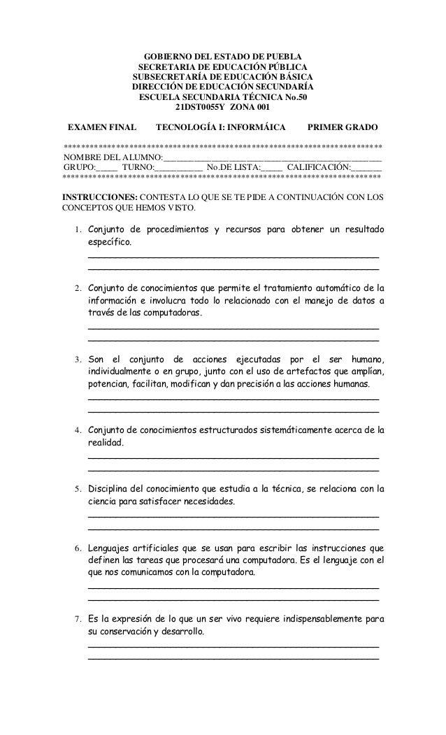 GOBIERNO DEL ESTADO DE PUEBLA SECRETARIA DE EDUCACIÓN PÚBLICA SUBSECRETARÍA DE EDUCACIÓN BÁSICA DIRECCIÓN DE EDUCACIÓN SEC...