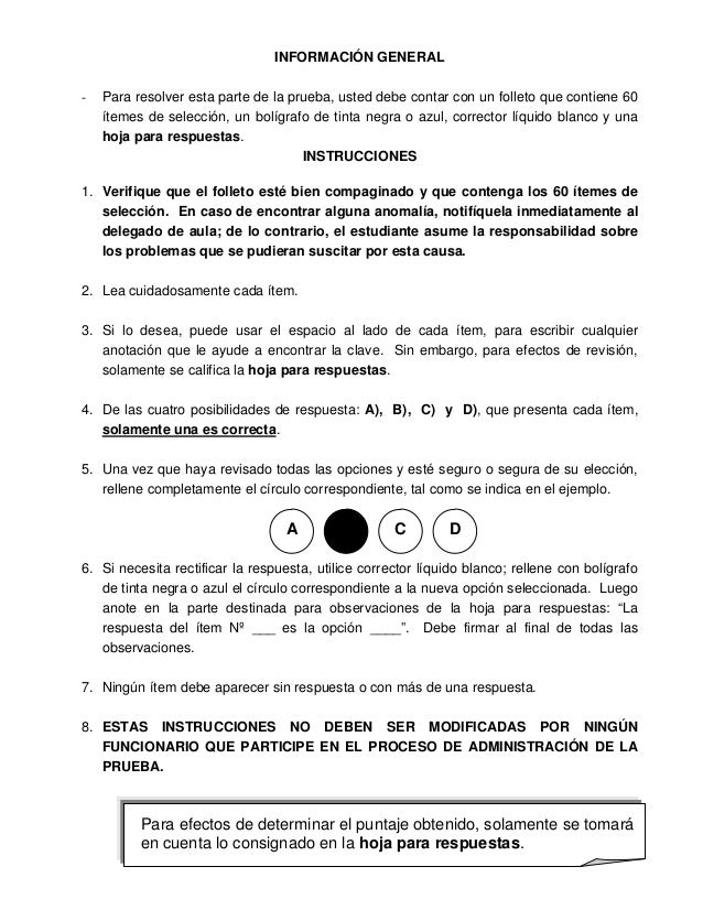 Examen  bachi español Slide 3