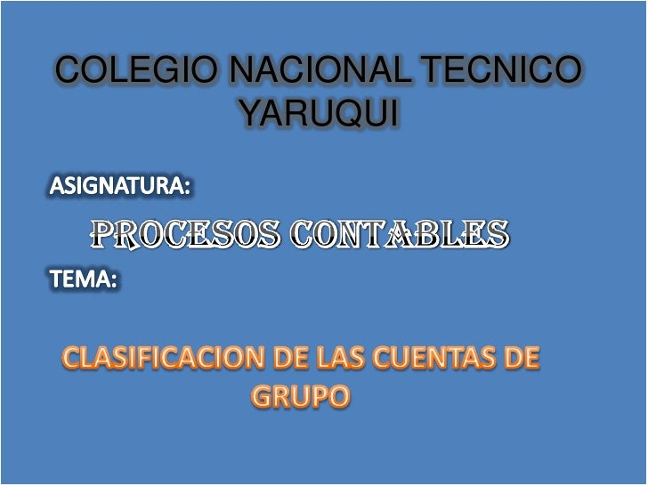 COLEGIO NACIONAL TECNICO        YARUQUI