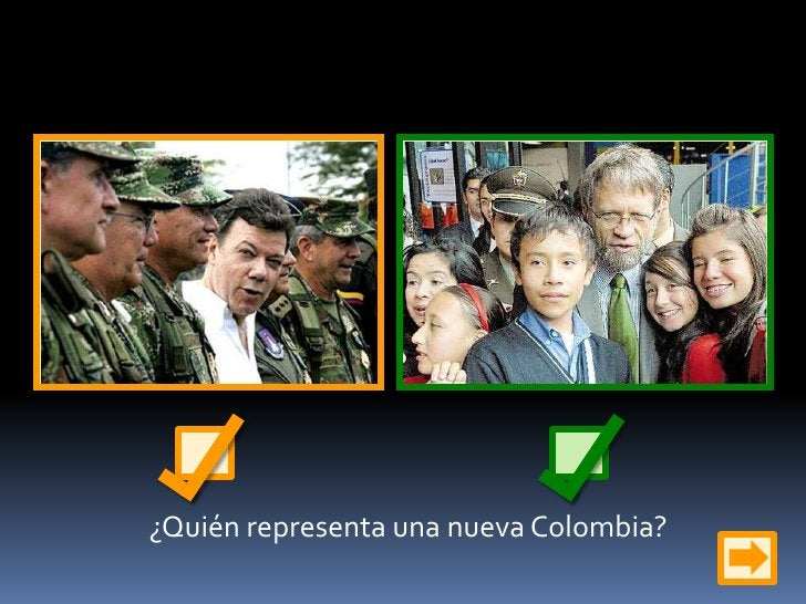 ¿Quién representa una nueva Colombia?<br />
