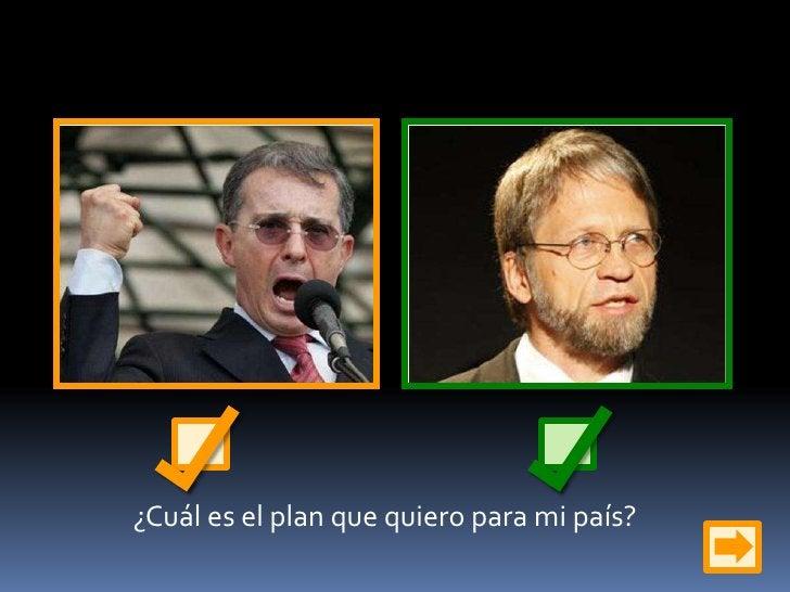 ¿Cuál es el plan que quiero para mi país?<br />