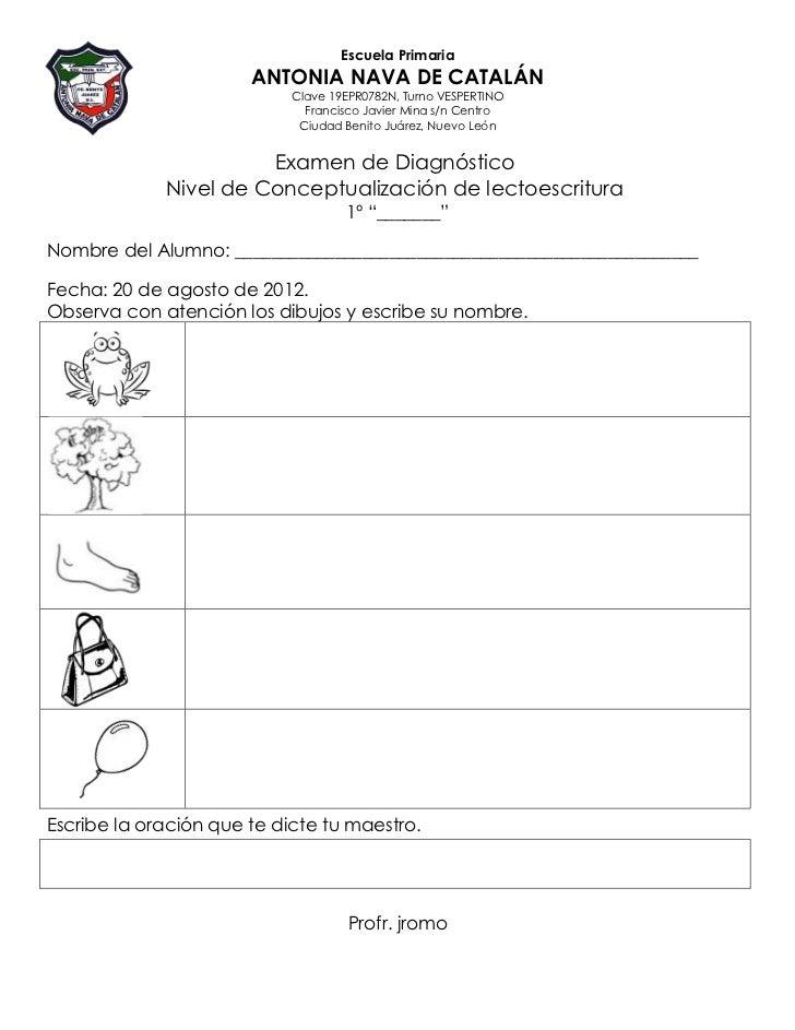 Escuela Primaria                       ANTONIA NAVA DE CATALÁN                            Clave 19EPR0782N, Turno VESPERTI...
