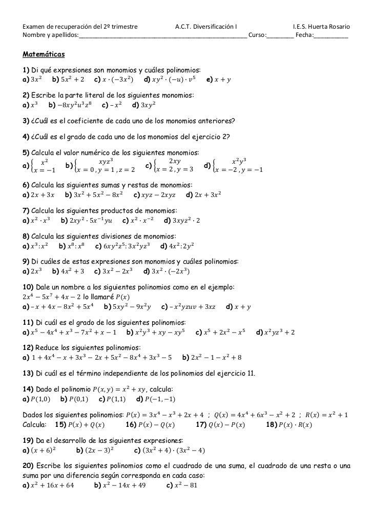 džĂŵĞŶ ĚĞ ƌĞĐƵƉĞƌĂĐŝſŶ ĚĞů ϮǑ ƚƌŝŵĞƐƚƌĞ         ͘ ͘d͘ ŝǀĞƌƐŝĨŝĐĂĐŝſŶ /            /͘ ͘^͘ ,ƵĞƌƚĂ ZŽƐĂƌŝŽEŽŵďƌĞ LJ ĂƉĞůůŝĚŽƐ͗ͺ...
