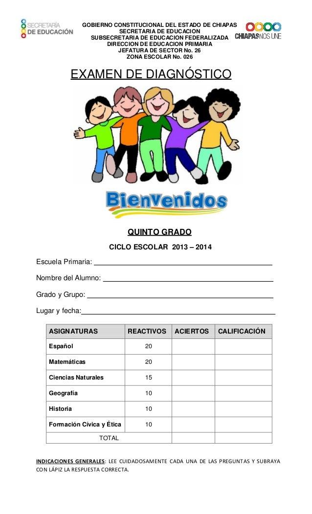 GOBIERNO CONSTITUCIONAL DEL ESTADO DE CHIAPAS SECRETARIA DE EDUCACION SUBSECRETARIA DE EDUCACION FEDERALIZADA DIRECCION DE...