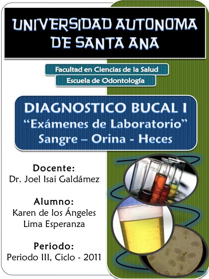 Docente: Dr. Joel Isai Galdámez Alumno: Karen de los Ángeles Lima Esperanza Periodo: Periodo III, Ciclo - 2011