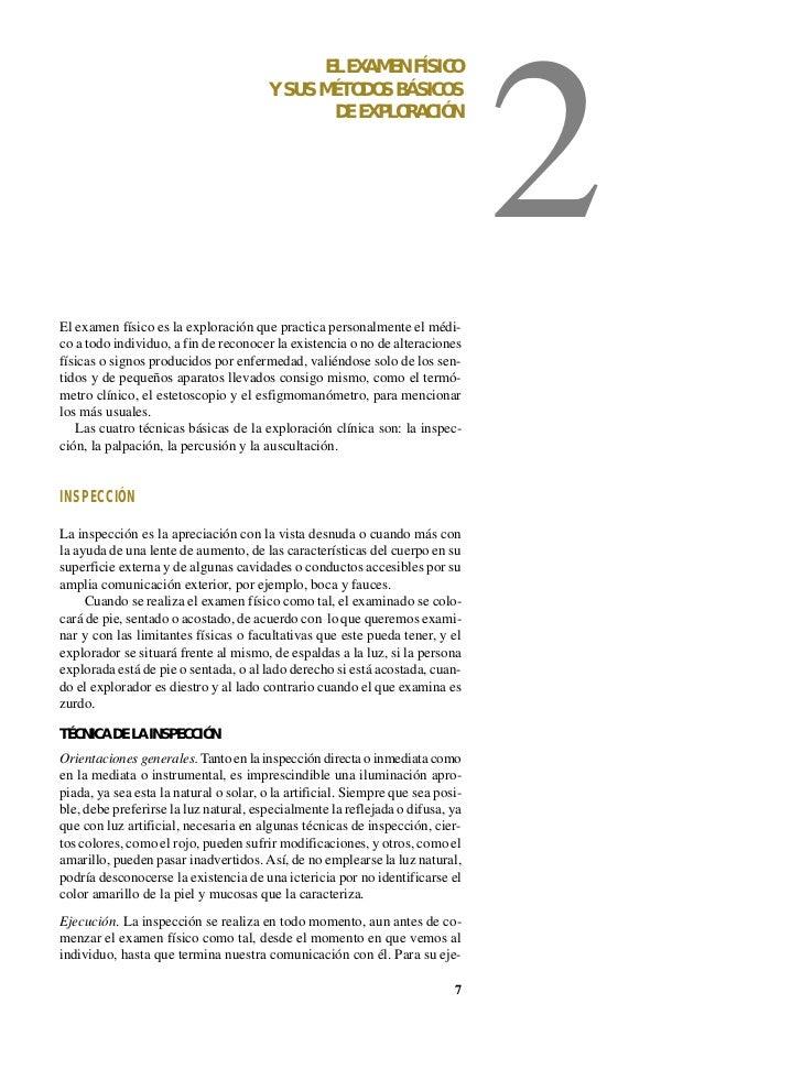 EL EXAMEN FÍSICO                                                                                2                         ...
