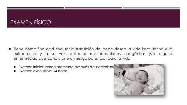 Examen físico neonatal Slide 2
