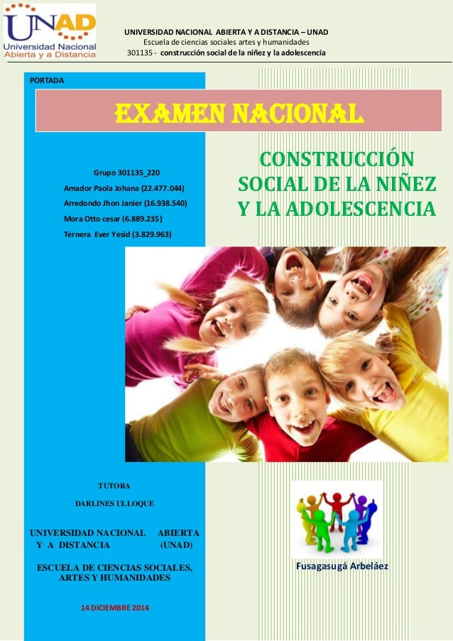 UNIVERSIDAD NACIONAL ABIERTA Y A DISTANCIA – UNAD  Escuela de ciencias sociales artes y humanidades  301135 - construcción...