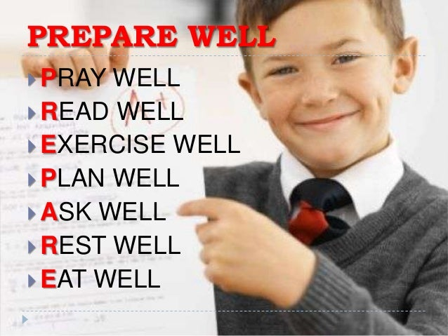 how to write exams well