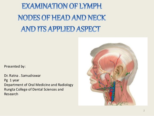 Examination of lymph nodes of head and neck ccuart Images