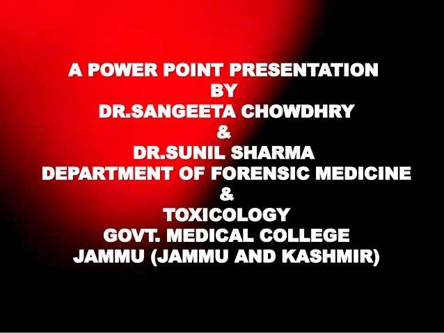 Examination of rape accused (2) Slide 2