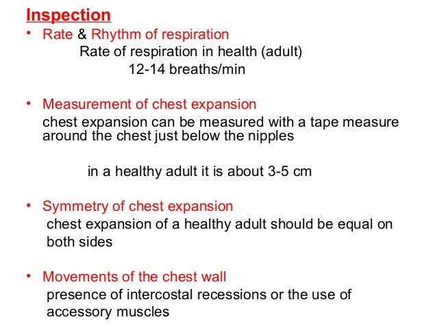 Respiratory assessment in older adults