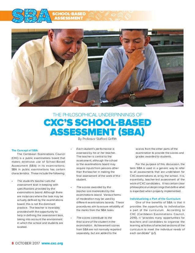 The caribbean examiner school based assessment school based assessment 8 the caribbean fandeluxe Gallery