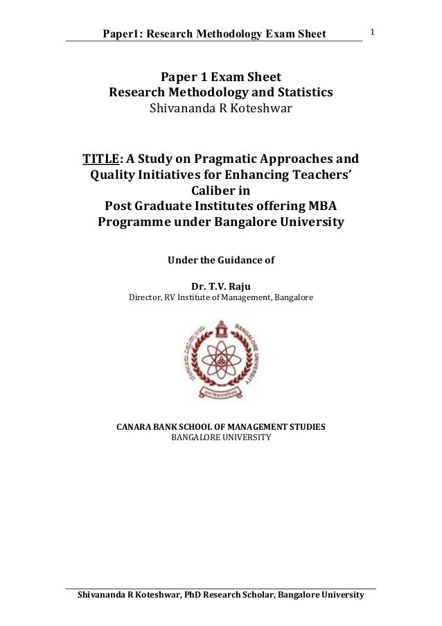 srtmun phd coursework exam 2016