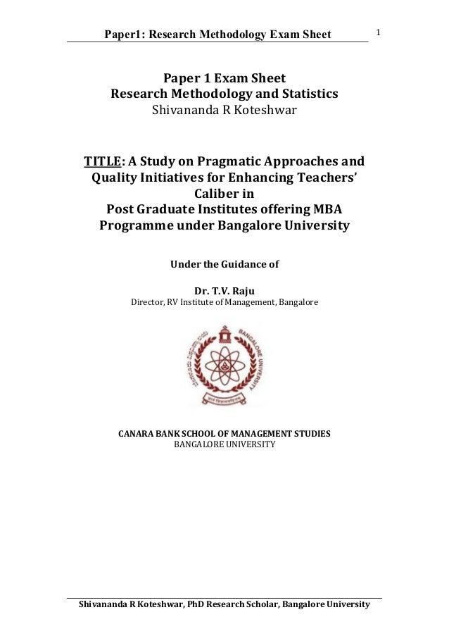 university of mysore phd coursework result