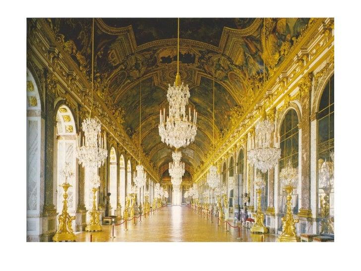 Hardouin-Mansart and LeBrunHall of Mirrors, Palais de Versailles               1678