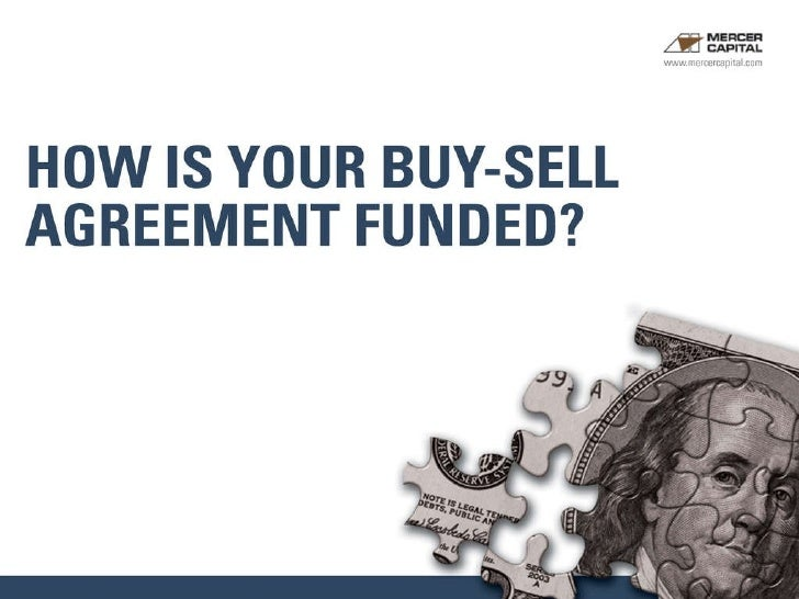 Buy Sell Agreements Example Slides
