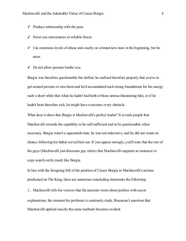 Lord Of The Flies Essay Outline Example Of Niccolo Machiavelli Essay On The Prince Machiavelli Beauty Definition Essay also Agriculture Essay Machiavelli Essay Example Of Niccolo Machiavelli Essay On The Prince  Rogerian Argument Essay
