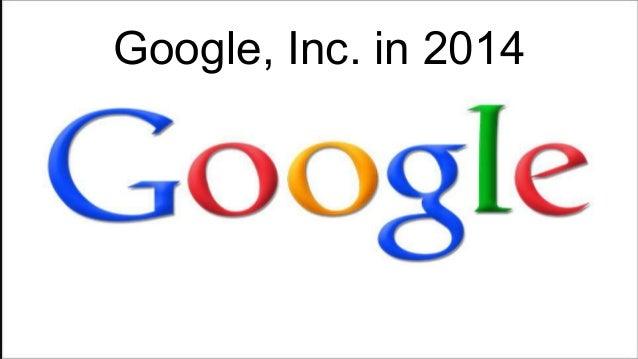 Google Inc Company Analysis