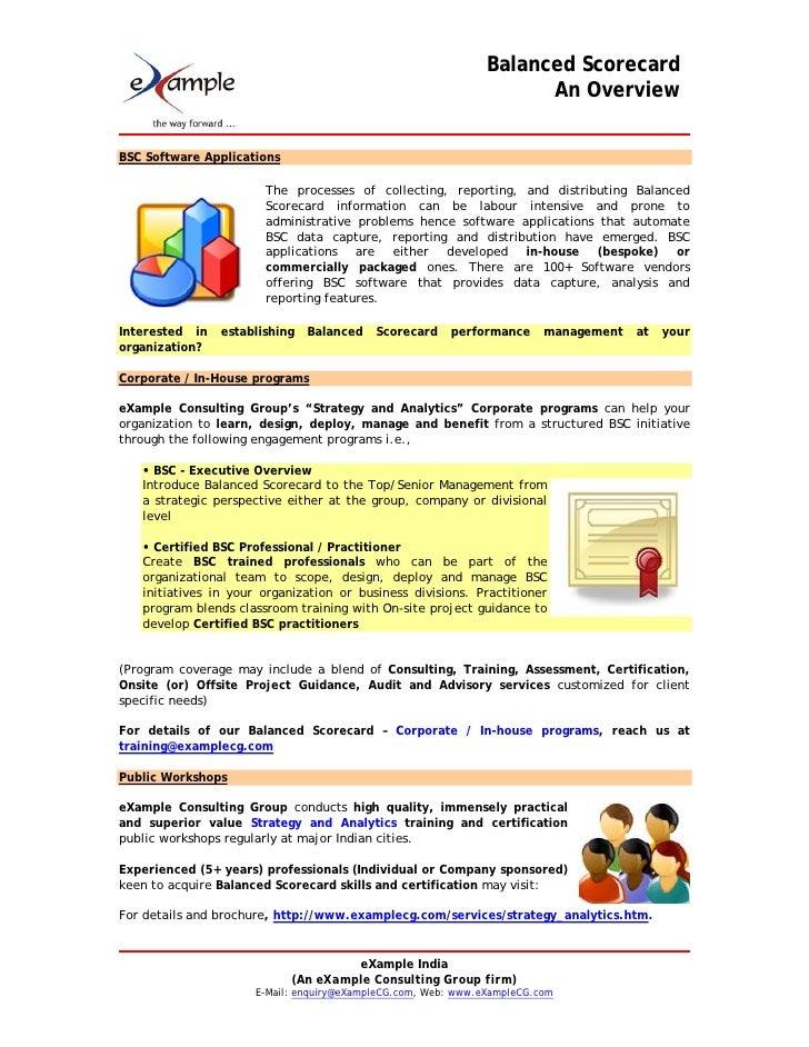 Balanced Scorecard In Human Resource Management Essay
