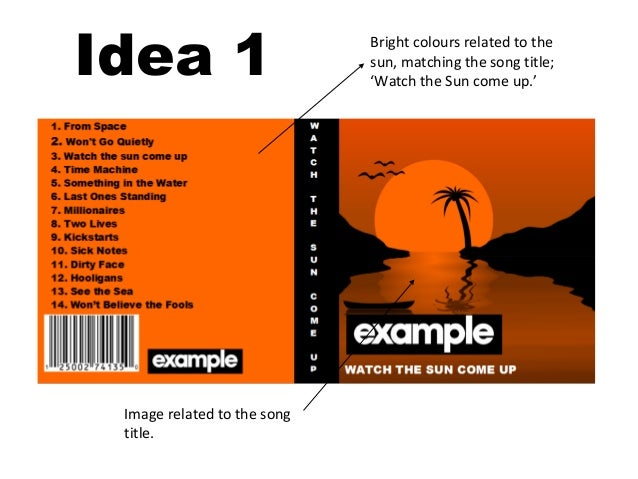 example cd cover ideas presentation, Powerpoint templates
