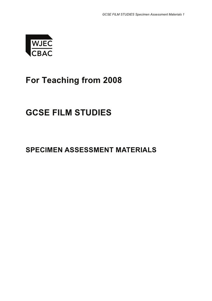 film studies 1 Keep up-to-date with the wjec film studies specifications, training, past papers and other resources available from wjec for teachers and students cadwch ar y blaen.