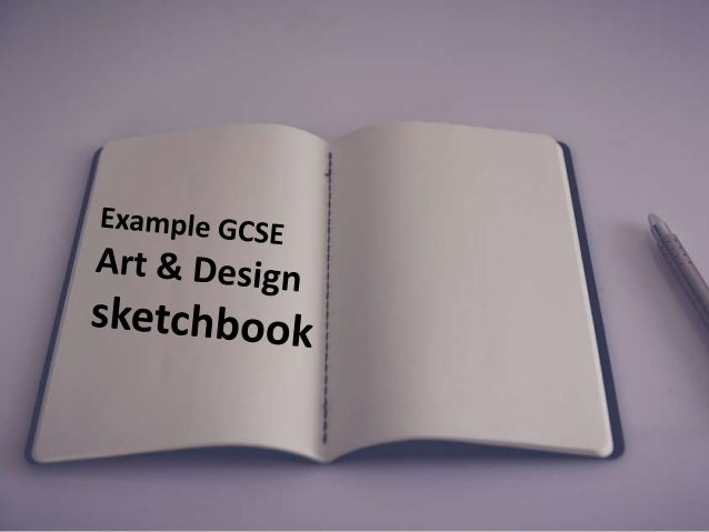 Example GCSE sketchbook