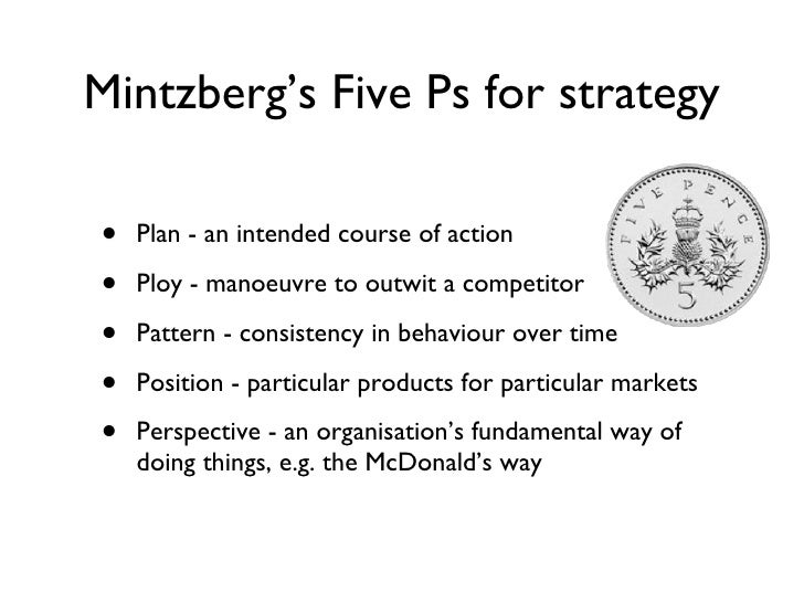 mintzberg and mcdonalds Operations management - planning & control in  mcdonalds supply chain mcdonalds is a  more about operations management - planning & control in mcdonald's.