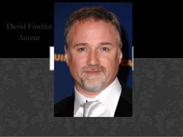 David Fincher Auteur