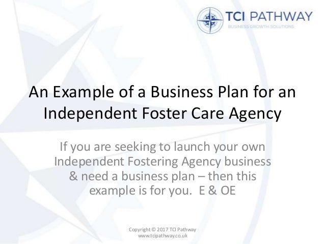 independent go through business plan