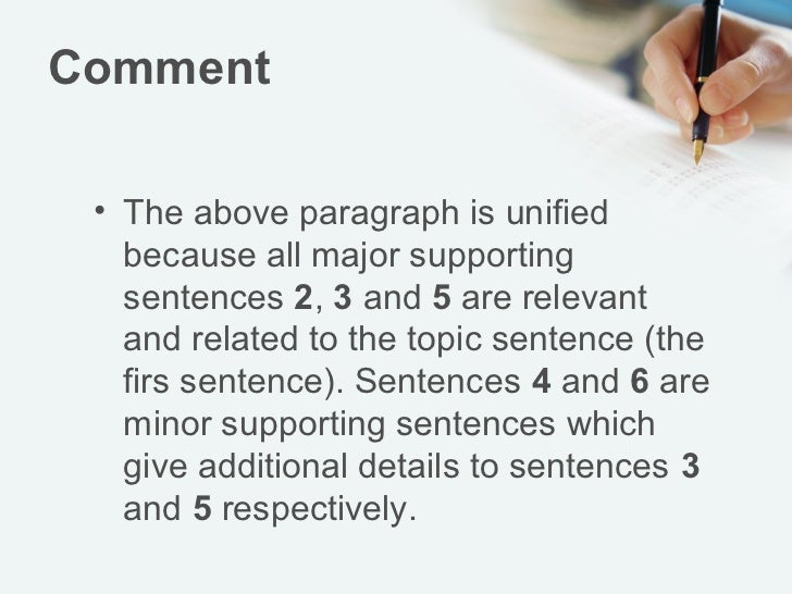 Coherence In Paragraph