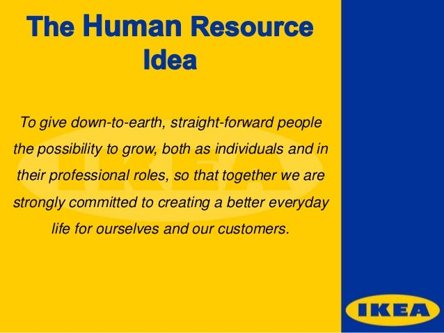 human resources strategy example