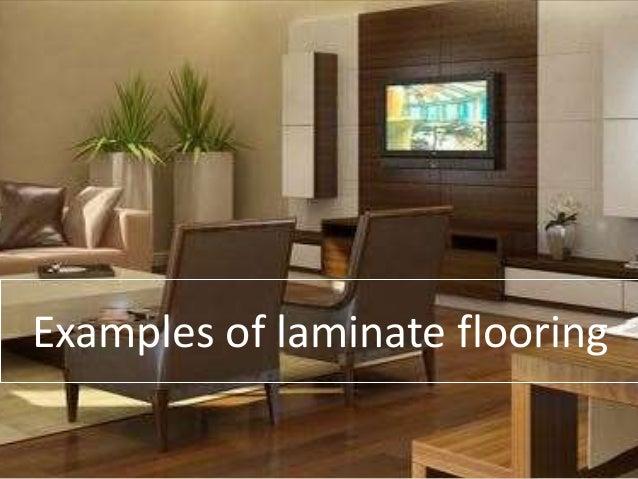 Example Of Laminate Flooring