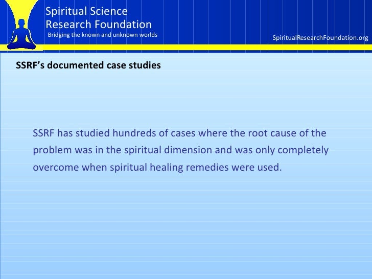 How the spiritual dimension affects our lives  Part 2 of 3 Slide 2
