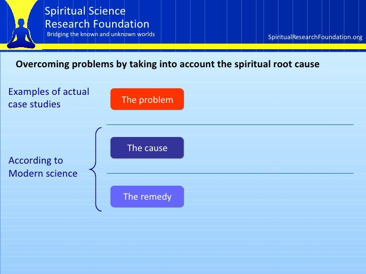 How the spiritual dimension affects our lives  Part 2 of 3 Slide 3