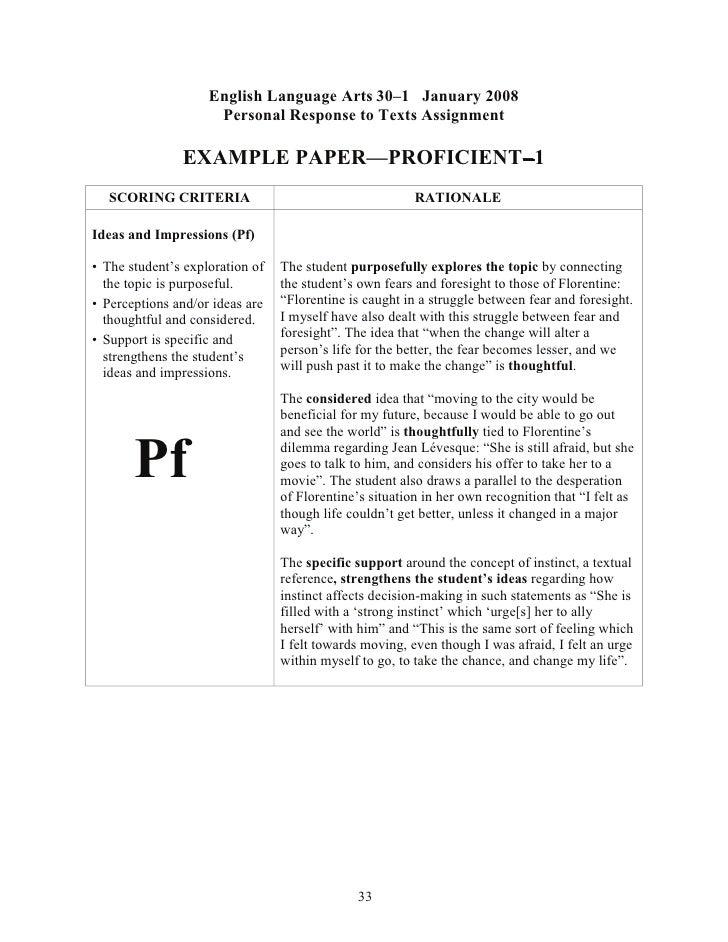 ela 30-1 essay topics