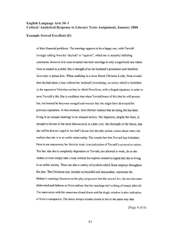 English 30-1 tips for personal response to texts | dsader.