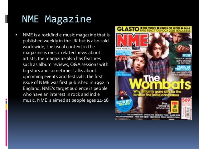 Examples of alternative, rock and indie magazines