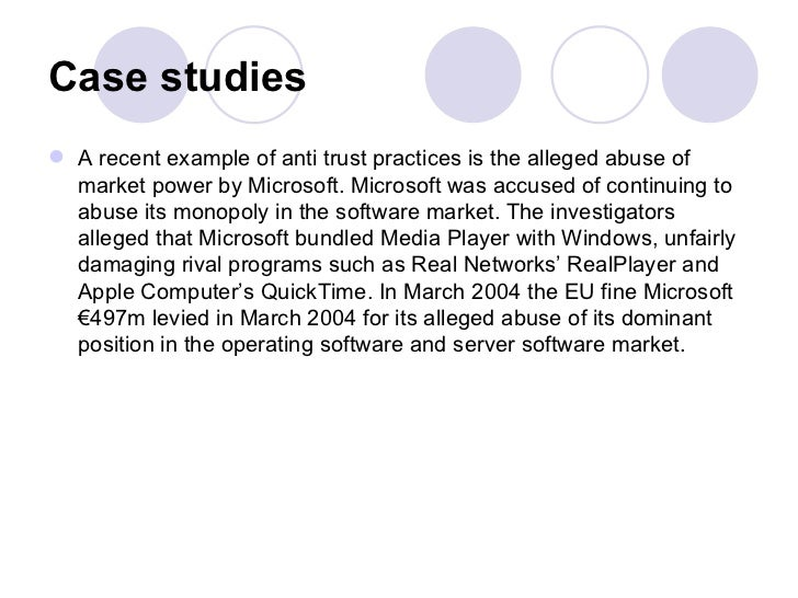 case study of microsoft monopoly What happened to the microsoft monopoly by casey b mulligan june 20, 2012 6:00 am june 20,  it is the study of our lives — our jobs,.